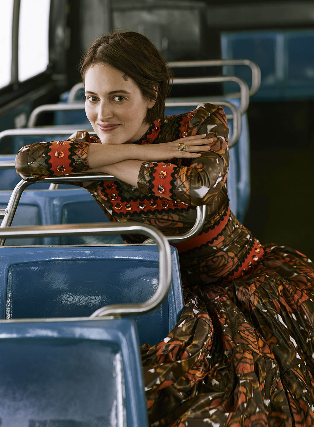 Phoebe Waller-Bridge covers Vogue US December 2019 by Ethan James Green