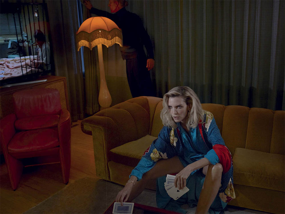 Rebecca Leigh Longendyke covers Vogue Italia December 2019 by Mert & Marcus