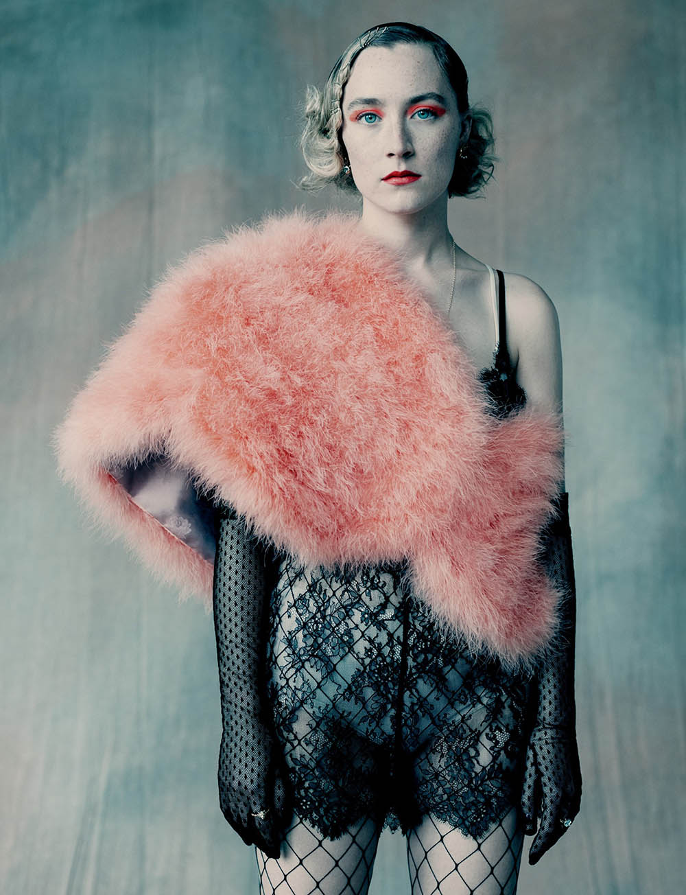 Saoirse Ronan covers Dazed Magazine Winter 2019 by Paolo Roversi