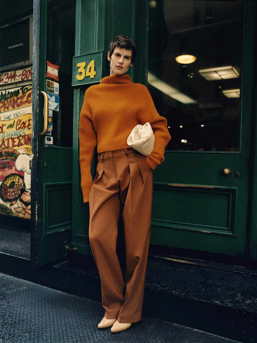 Saskia de Brauw covers Porter Magazine December 6th, 2019 by Quentin De Briey