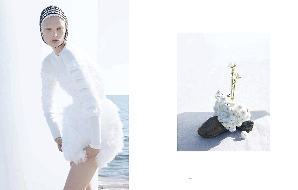 Vilma Sjöberg by Camilla Akrans for Vogue China December 2019