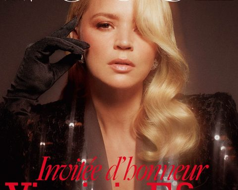 Virginie Efira covers Vogue Paris December 2019 January 2020 by Mikael Jansson