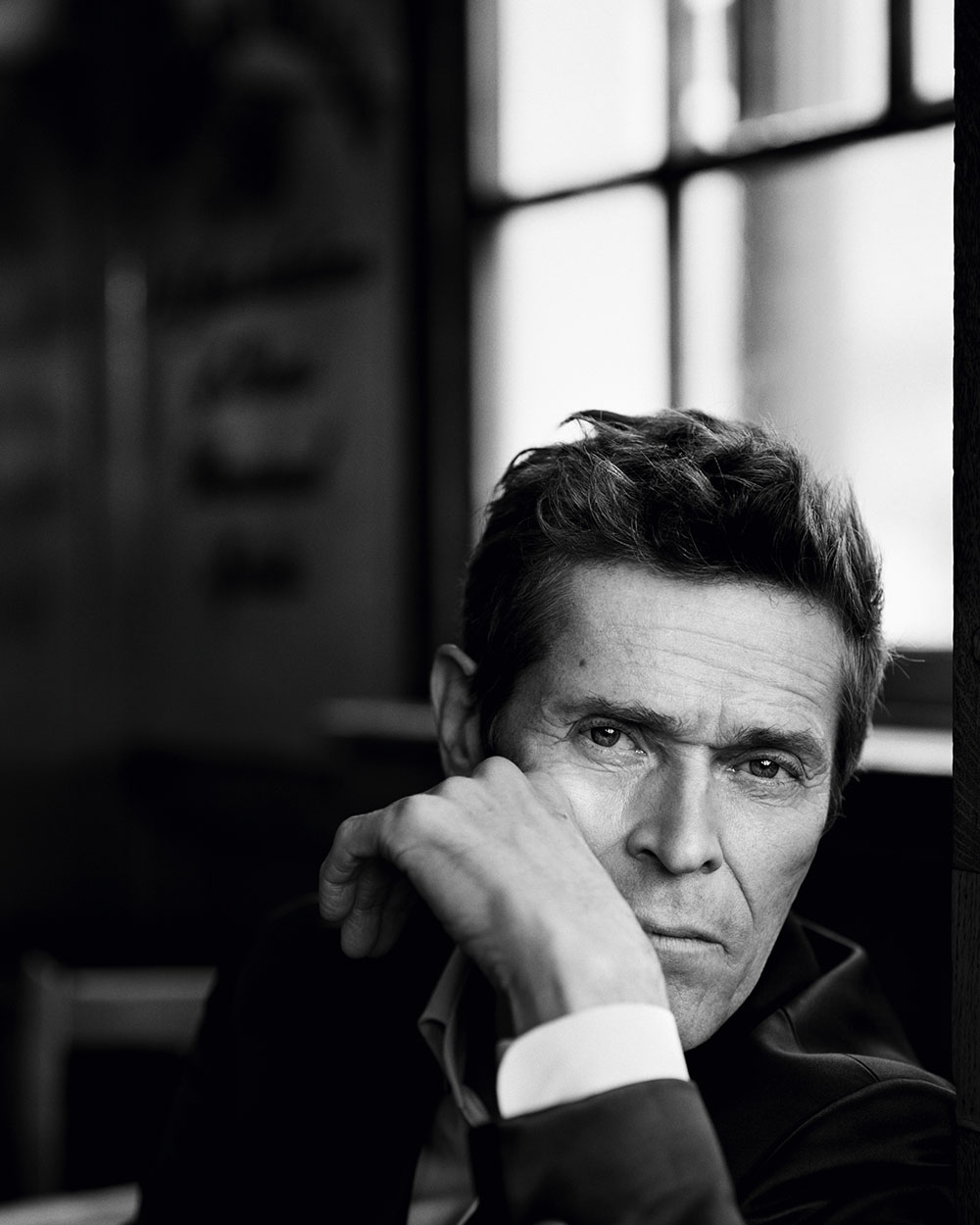 Willem Dafoe and Robert Pattinson cover Esquire UK November December 2019 by Alasdair McLellan