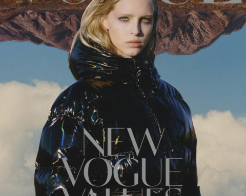 Abby Champion covers Vogue Ukraine January 2020 by Derek Henderson