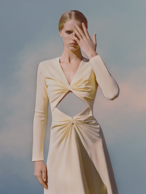 Abby Champion covers Vogue Ukraine January 2020 by Derek Henderson