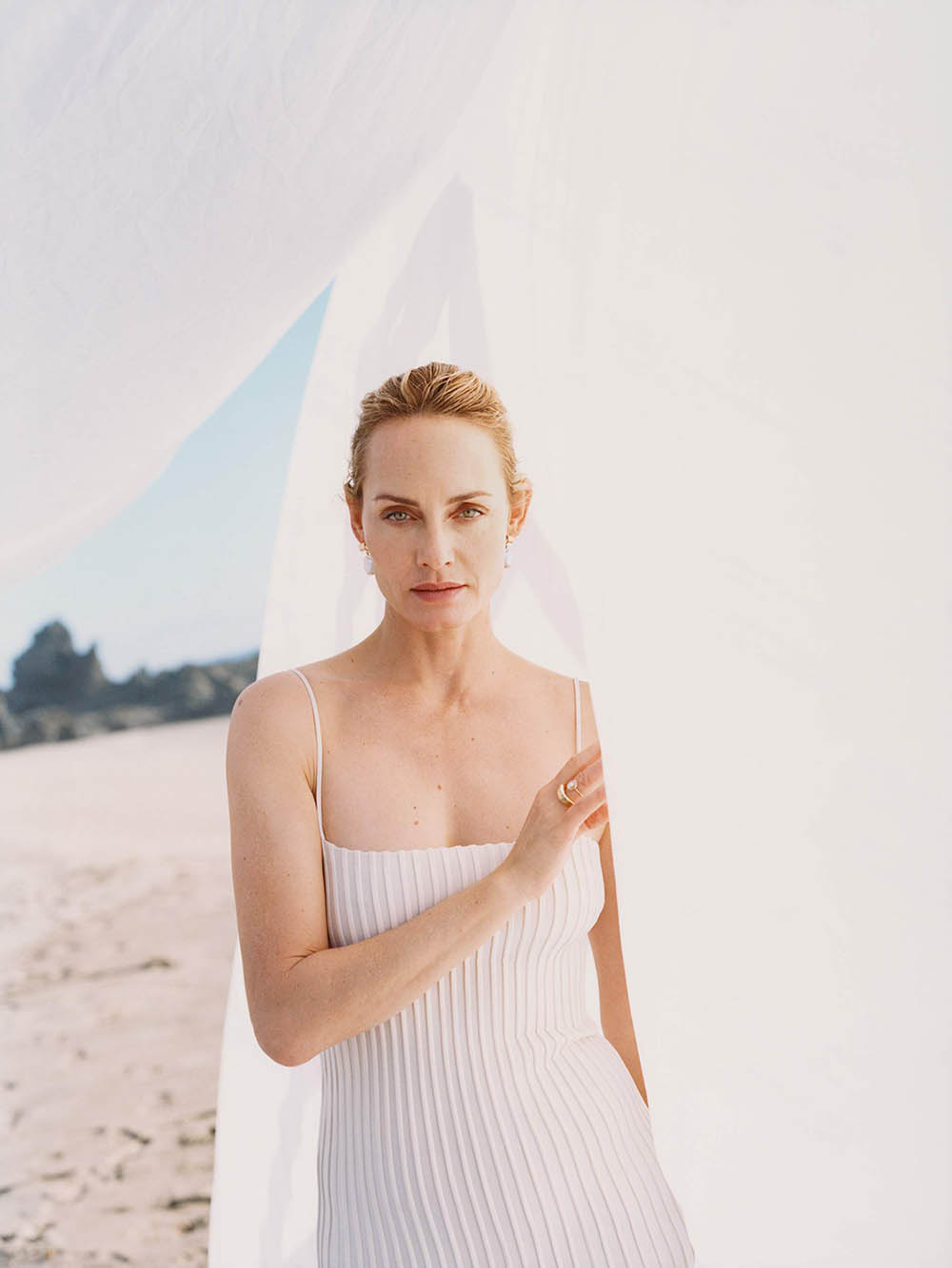 Amber Valletta covers Porter Magazine January 13th, 2020 by David Luraschi