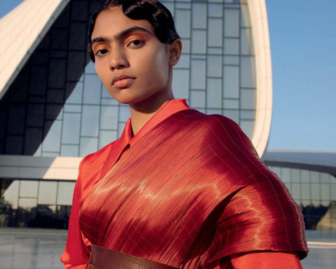 Anugraha Natarajan by Kay Sukumar for Harper's Bazaar India January February 2020