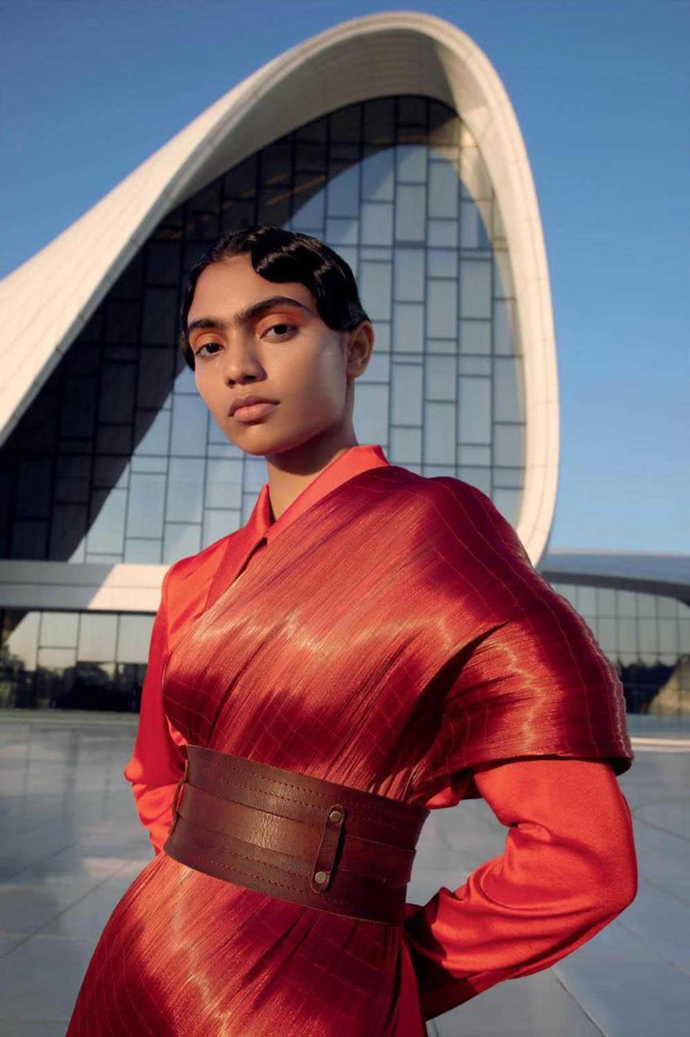 Anugraha Natarajan by Kay Sukumar for Harper's Bazaar India January February 2020