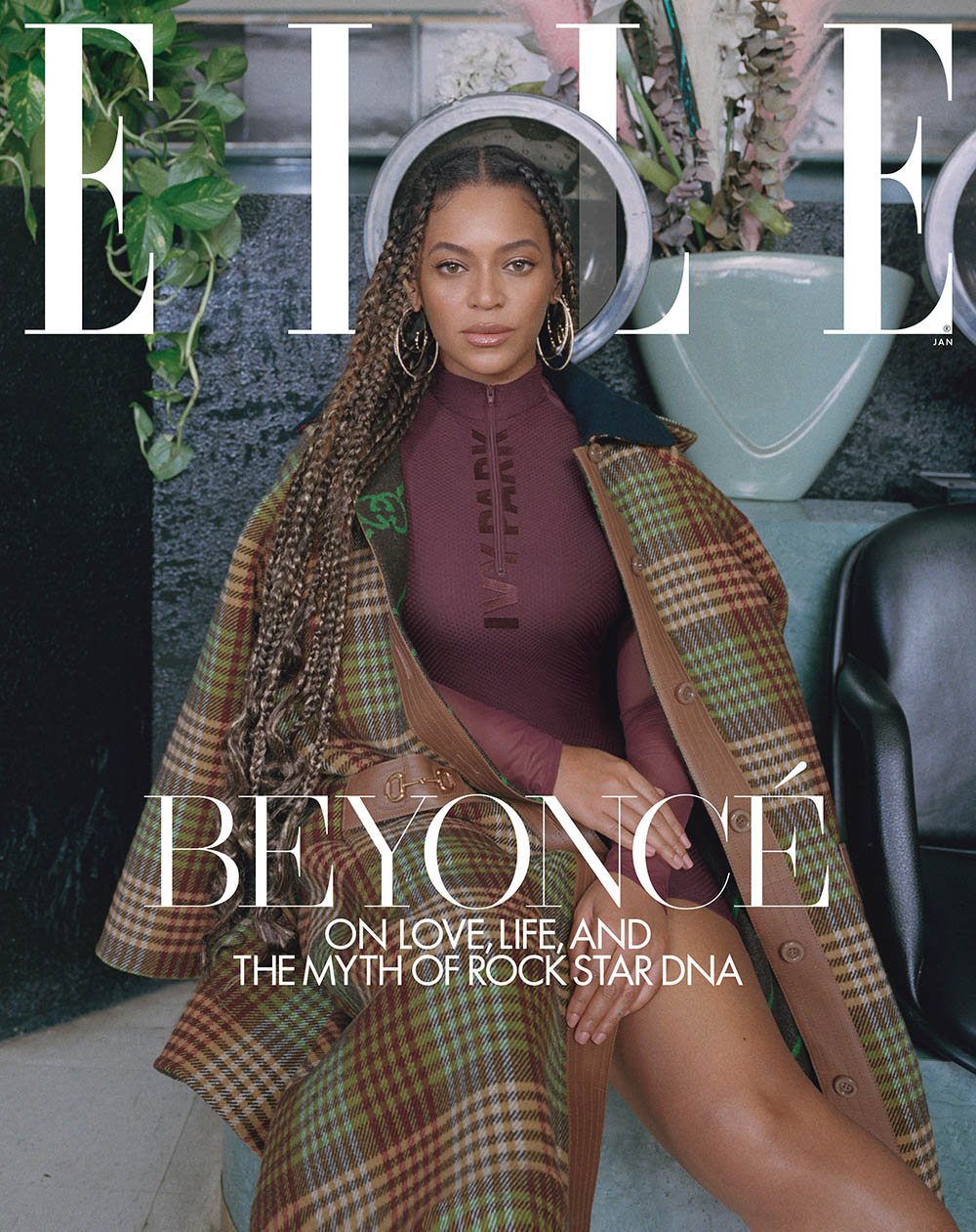 Beyoncé covers Elle US January 2020 by Melina Matsoukas