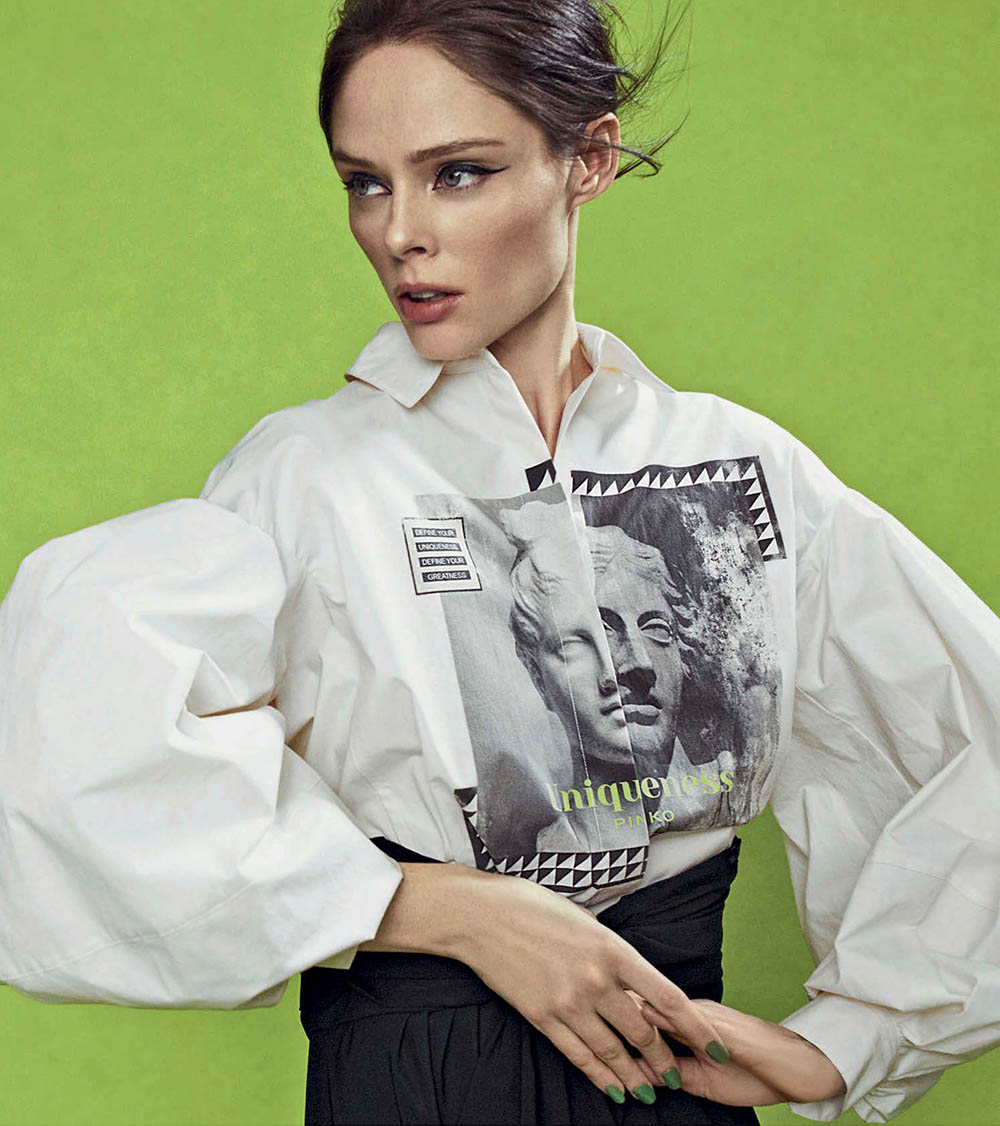 Coco Rocha by Michael Schwartz for Vanity Fair Italia January 22nd, 2020