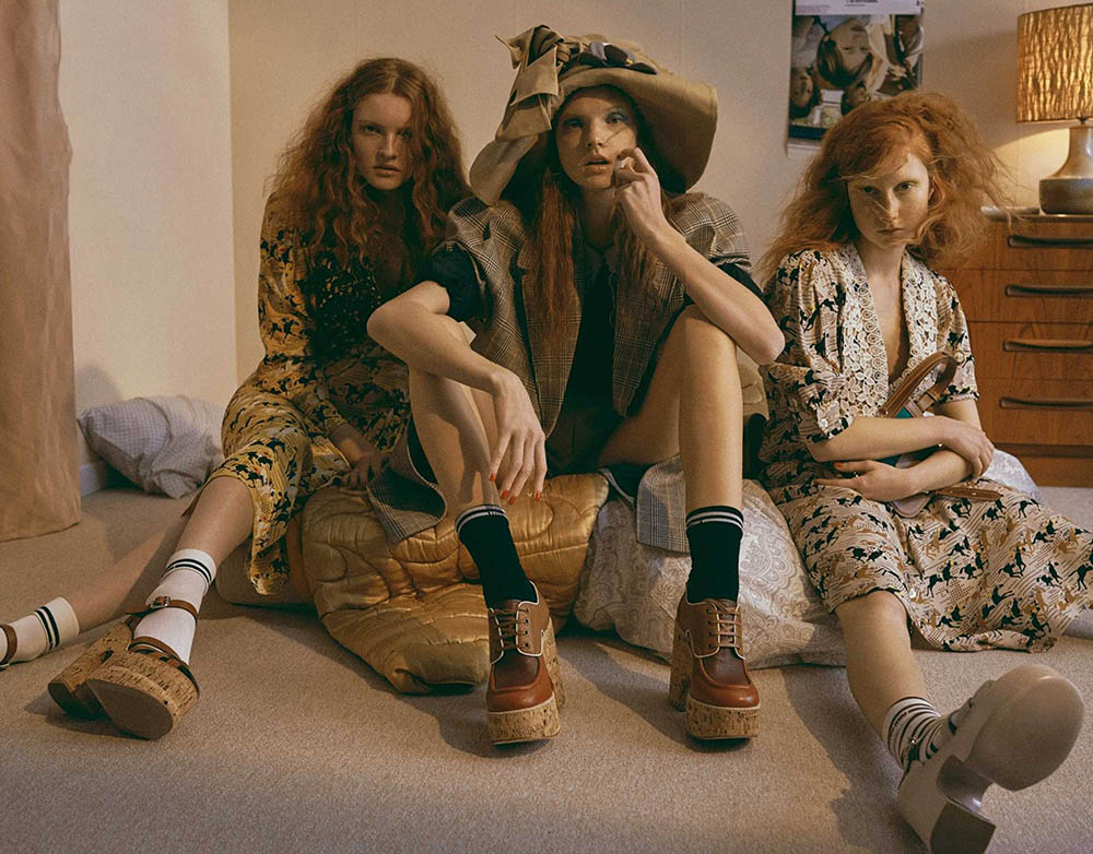 ''Entre Elles'' by Van Mossevelde + N for Marie Claire France January 2020