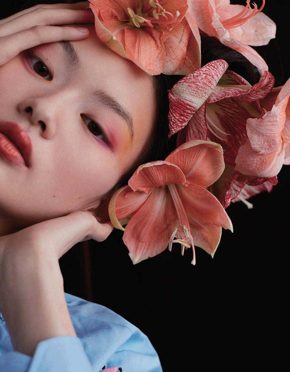 He Cong by Yuan Gui Mei for Vogue China January 2020He Cong by Yuan Gui Mei for Vogue China January 2020