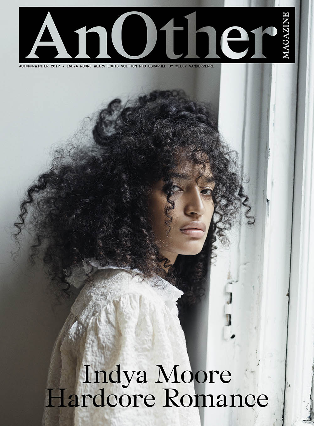 Indya Moore covers AnOther Magazine Fall Winter 2019 by Willy Vanderperre