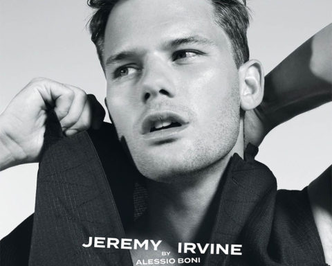 Jeremy Irvine covers Icon Italia January 2020 by Alessio Boni