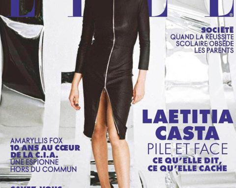 Laetitia Casta covers Elle France January 10th, 2020 by Pierre-Ange Carlotti