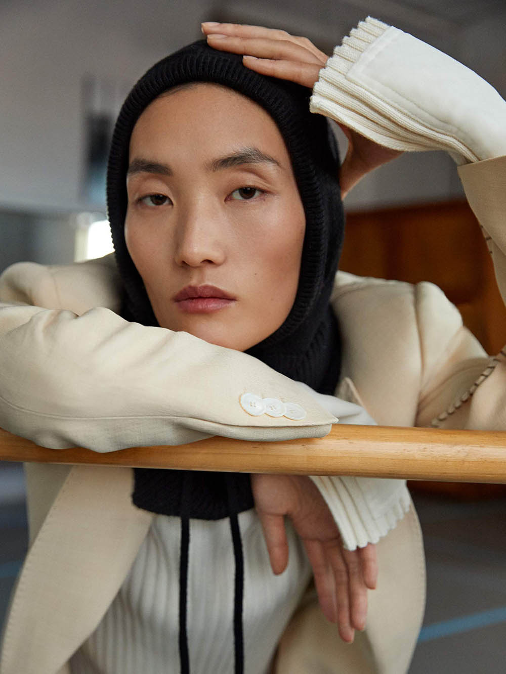 Lina Zhang covers Porter Magazine January 20th, 2020 by Yelena Yemchuk