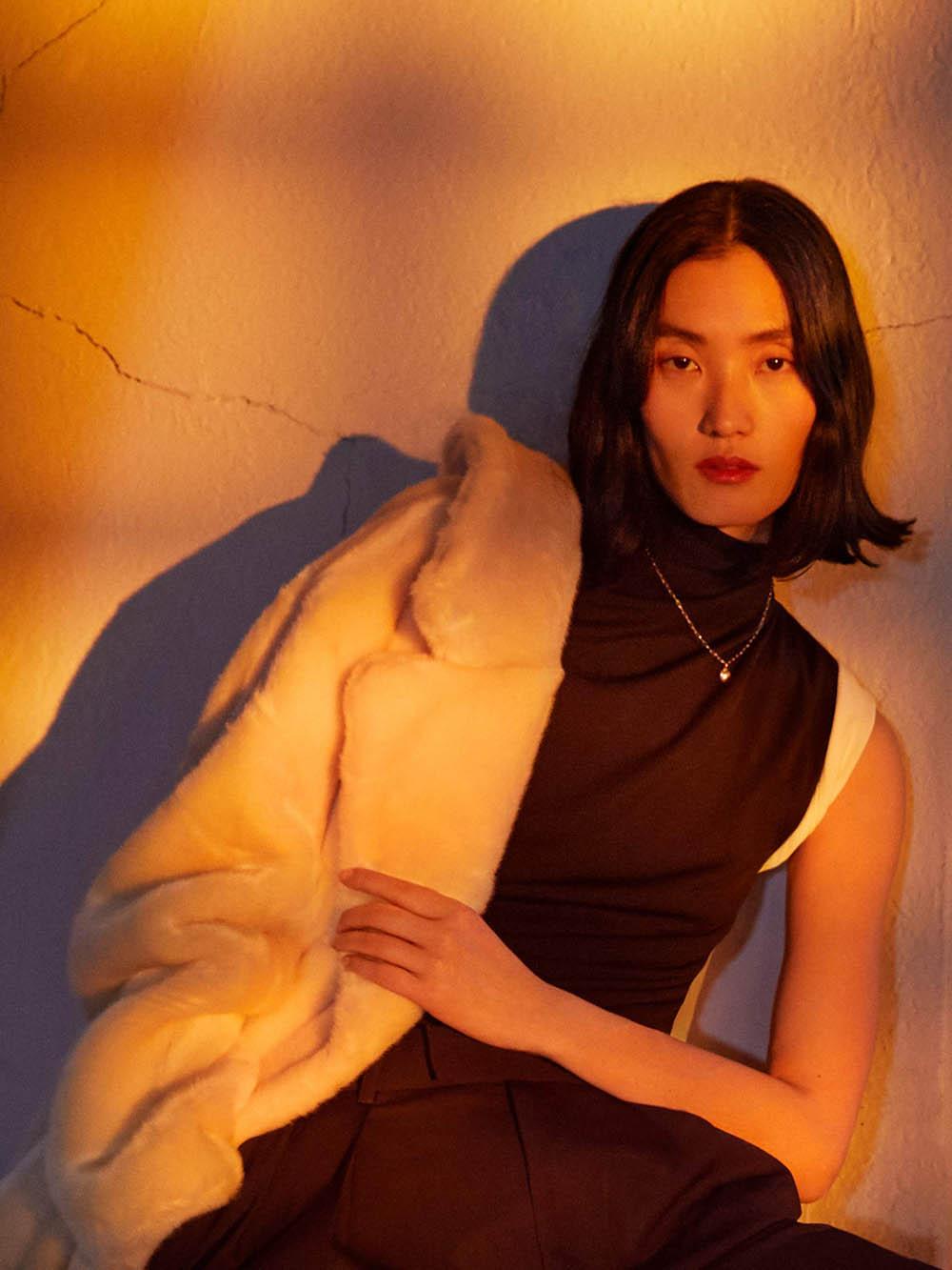 Lina Zhang covers Porter Magazine January 20th, 2020 by Yelena Yemchuk