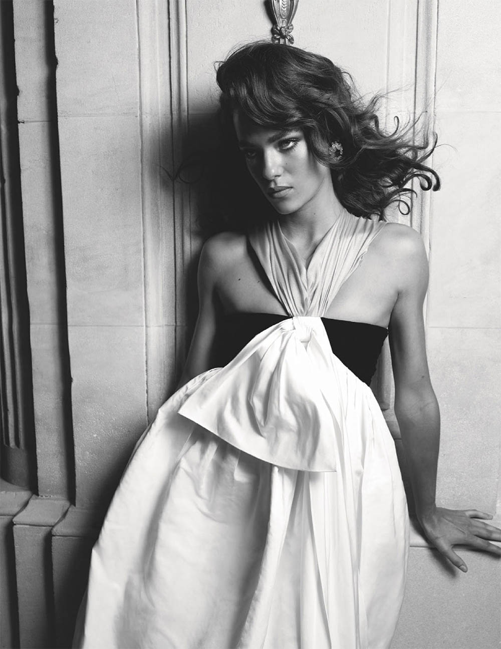 Lisa Louis Fratani by Luc Braquet for Tatler UK January 2020