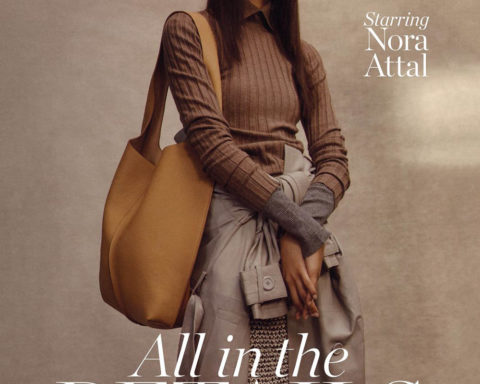 Nora Attal covers Porter Magazine January 3rd, 2020 by Ben Weller