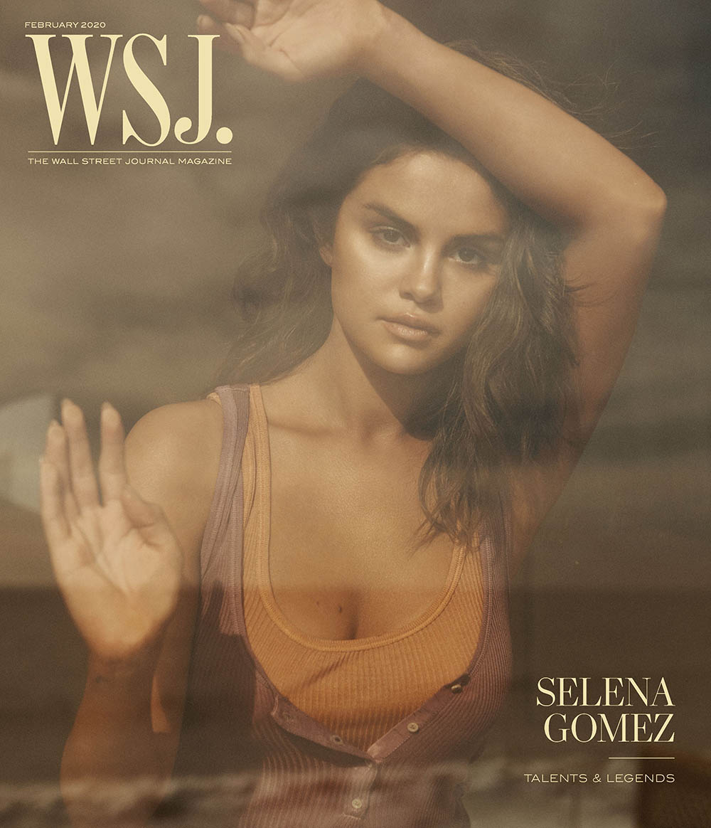 Selena Gomez covers WSJ. Magazine February 2020 by Lachlan Bailey