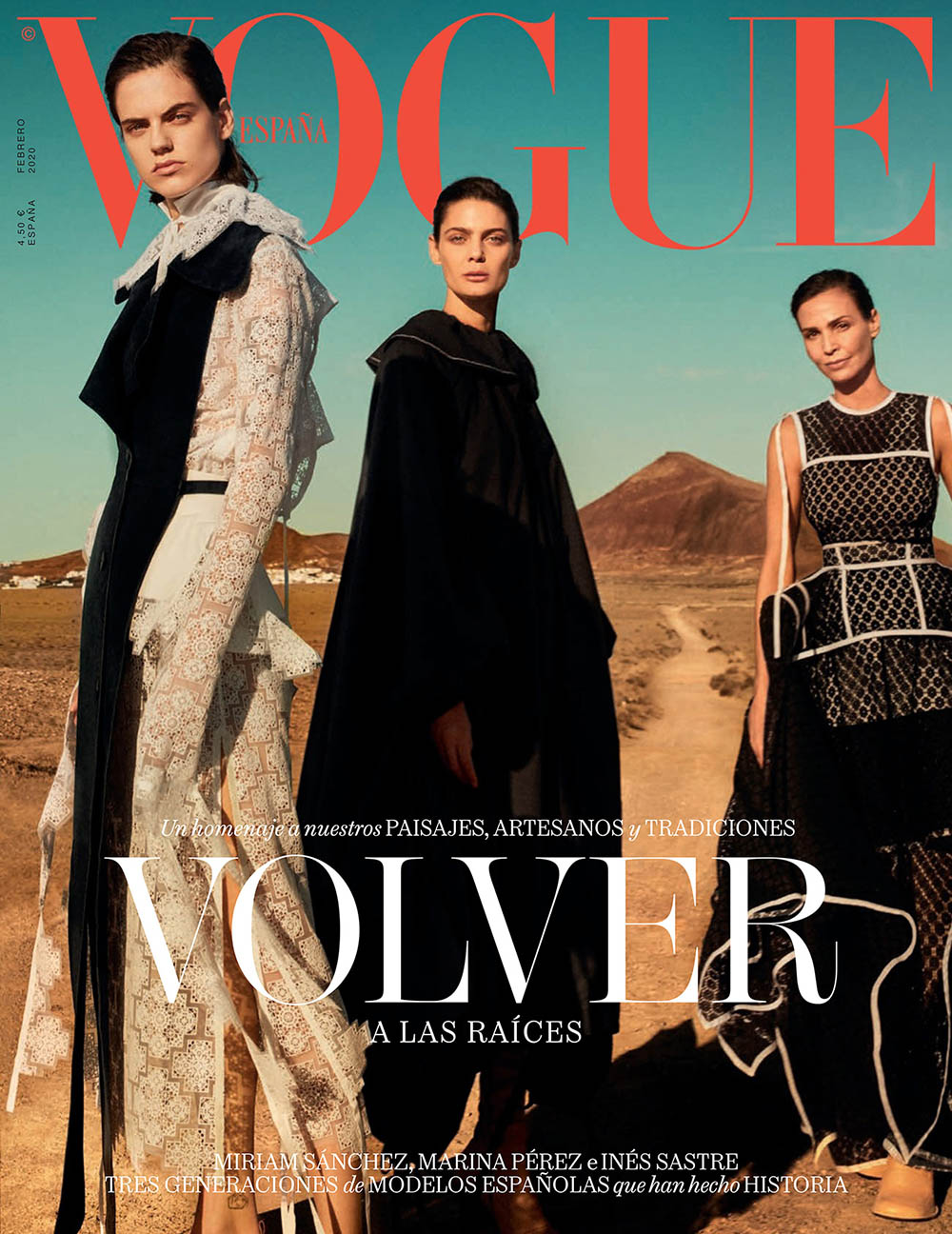 Vogue Spain February 2020 cover by Txema Yeste