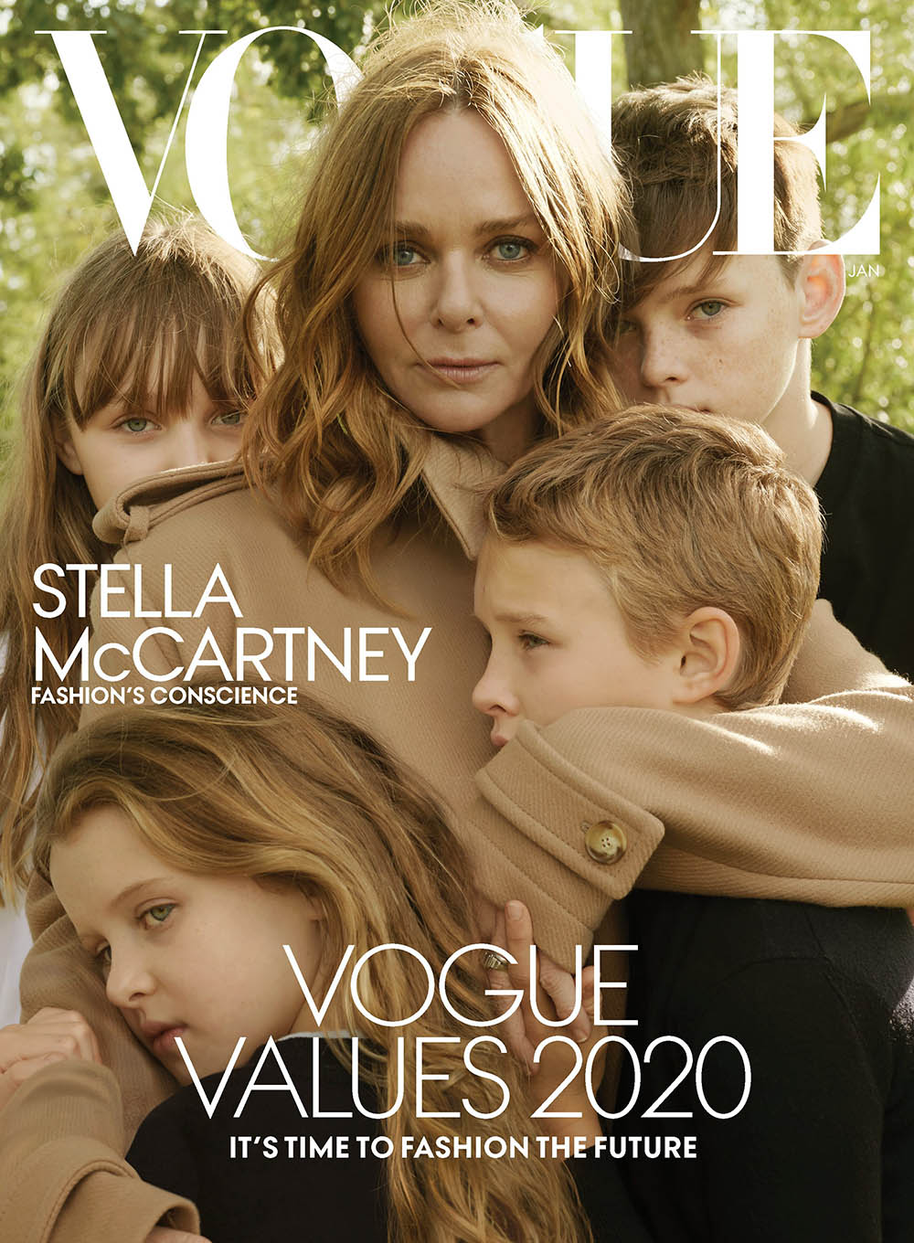 Vogue US January 2020 covers by Annie Leibovitz