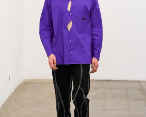 Xander Zhou Fall Winter 2020 - London Fashion Week Men's