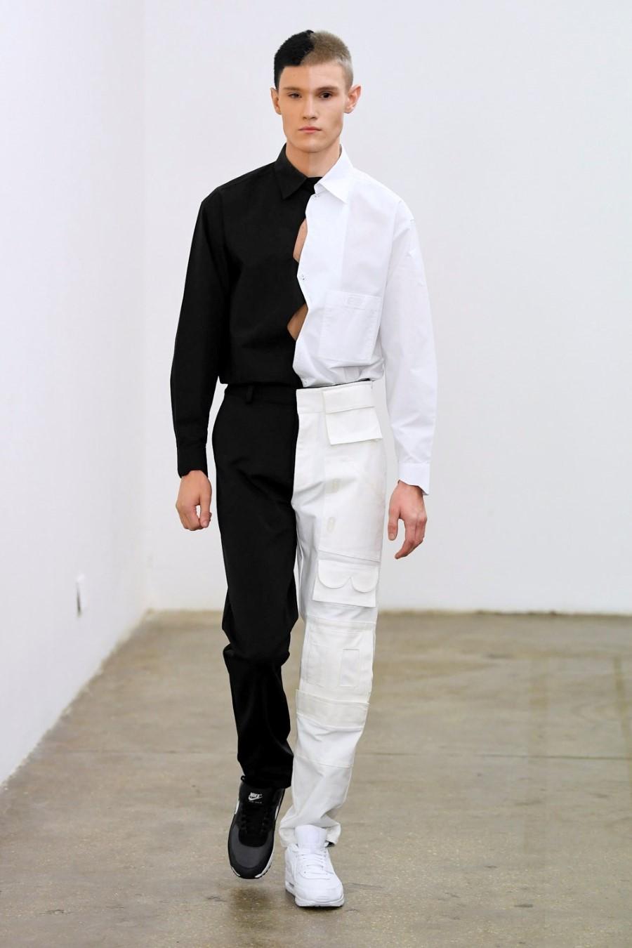 Xander Zhou Fall Winter 2020 - London Fashion Week Men's