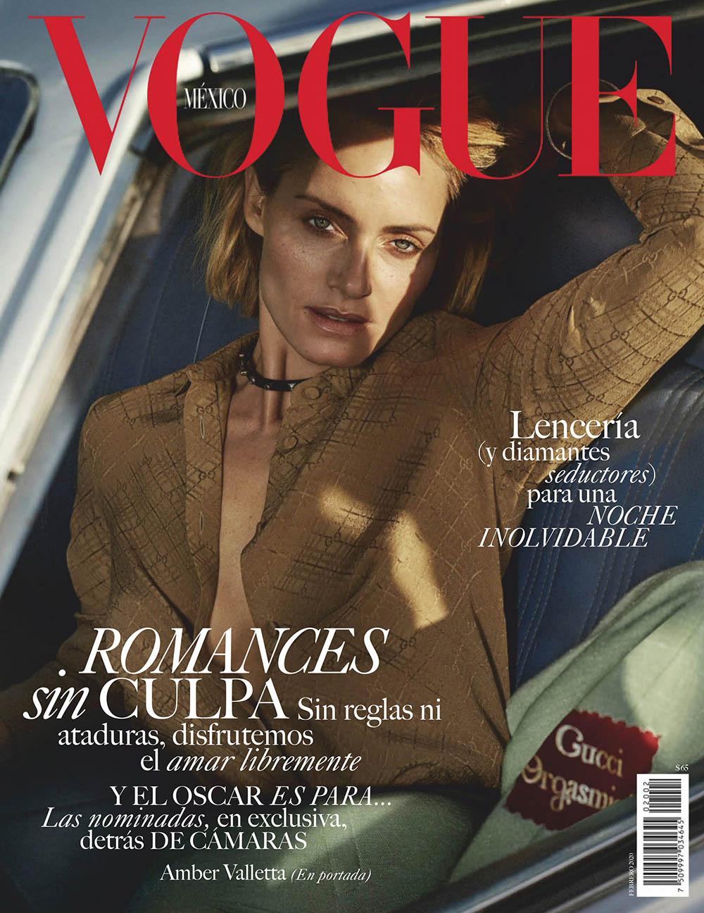 Amber Valletta covers Vogue Mexico & Latin America February 2020 by Alique