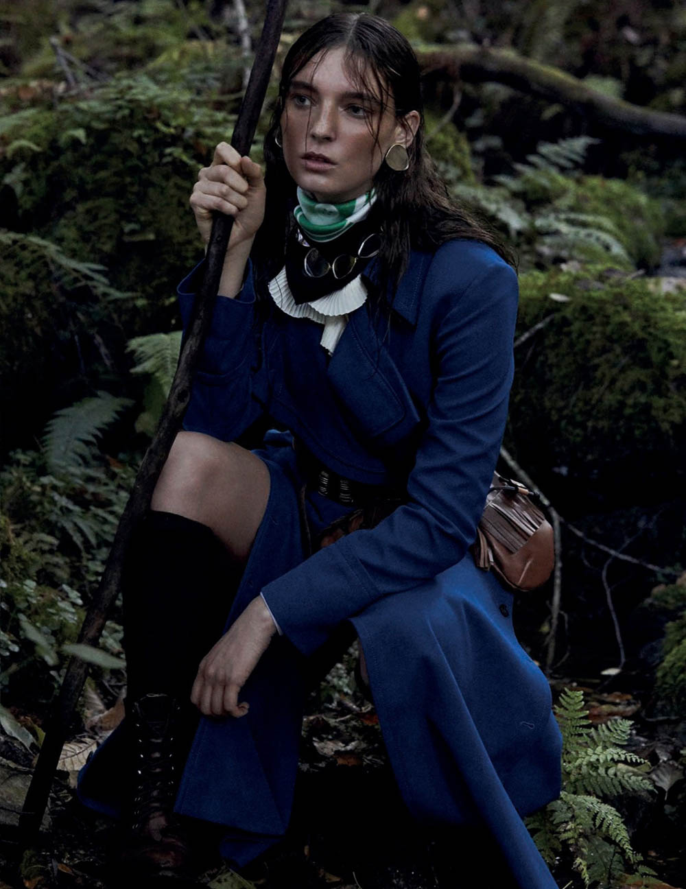 Ansley Gulielmi by Alvaro Beamud for Vogue Spain February 2020