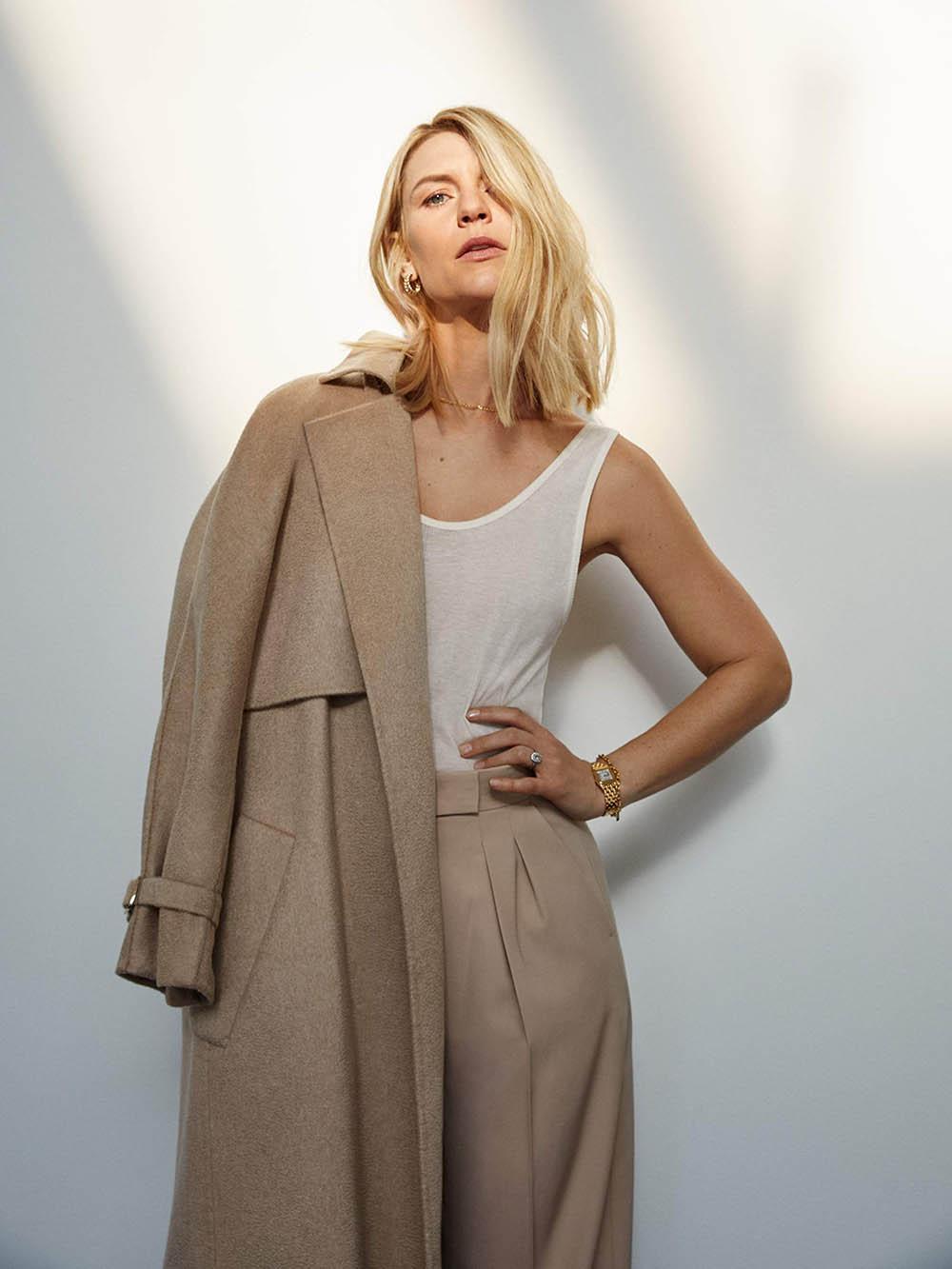 Claire Danes covers Porter Magazine February 3rd, 2020 by Yelena Yemchuk