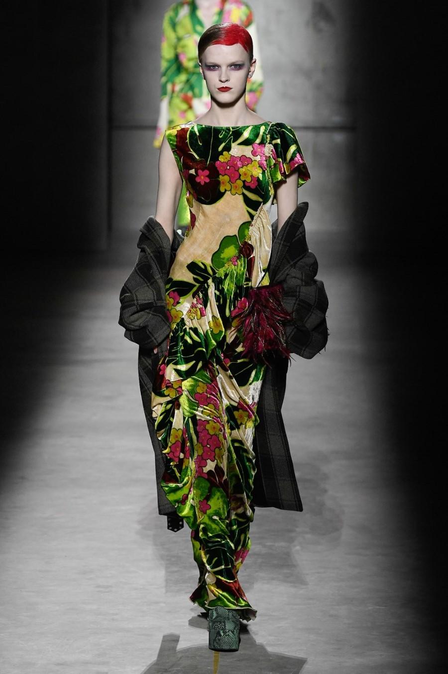 Dries Van Noten - Fall Winter 2020 - Paris Fashion Week