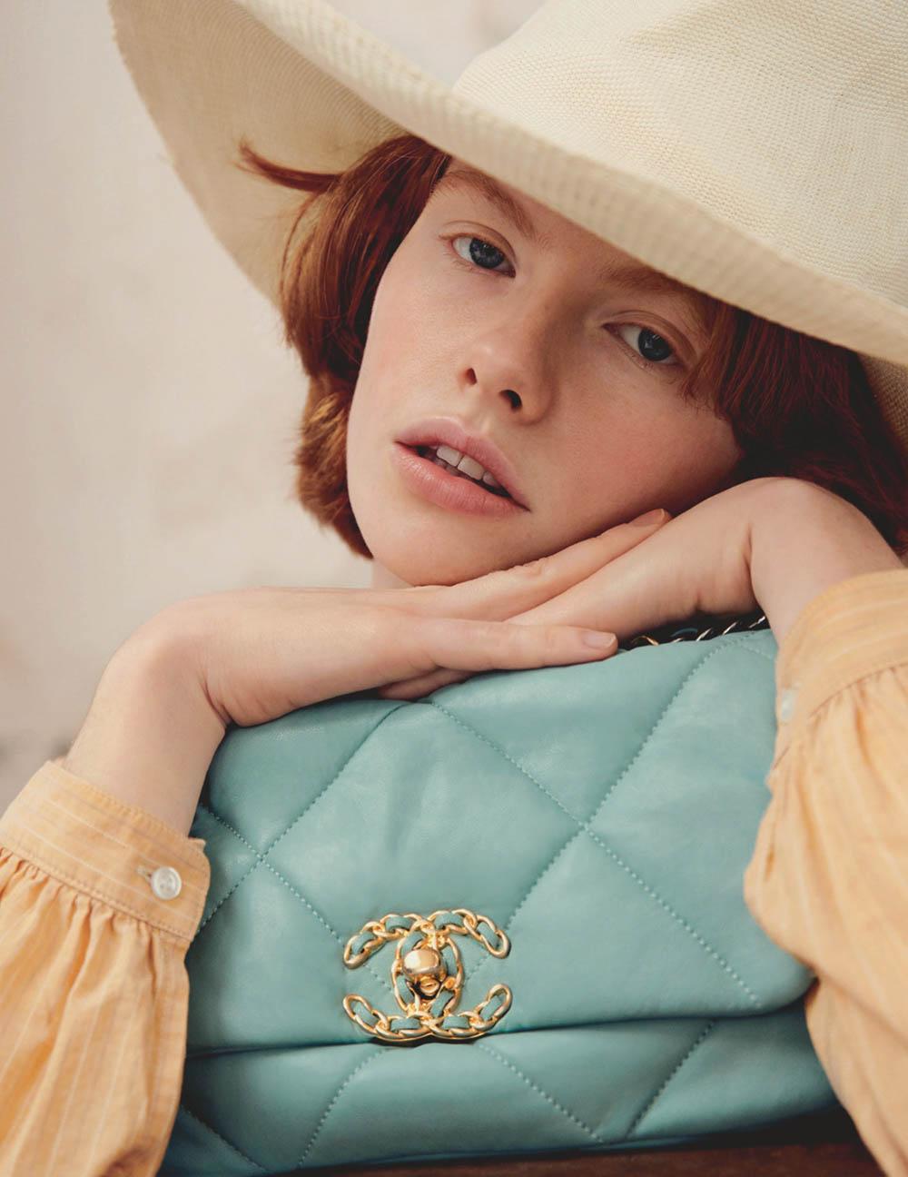 Edwina Preston by Joan Braun for Vogue Russia February 2020