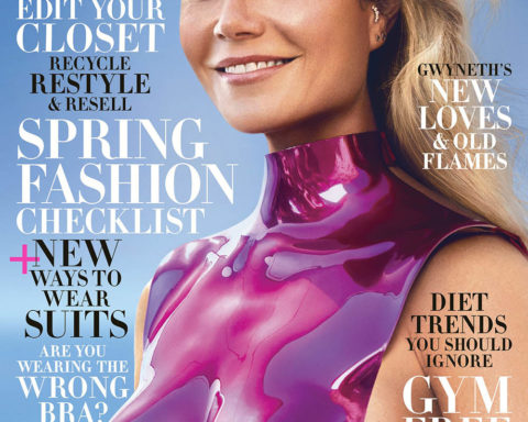 Gwyneth Paltrow covers Harper's Bazaar US February 2020 by Zoey Grossman