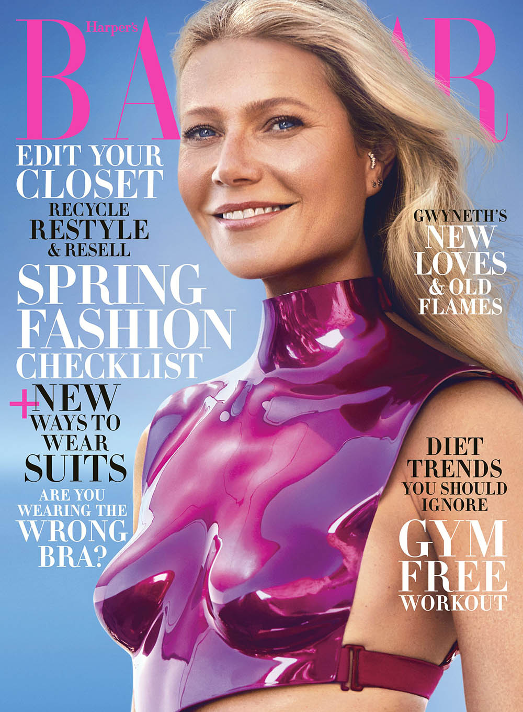 Gwyneth Paltrow covers Harper's Bazaar US February 2020 by Zoey Grossman