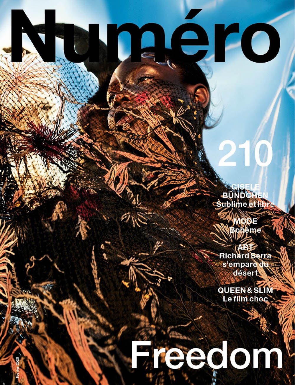Janet Jumbo covers Numéro February 2020 by Txema Yeste