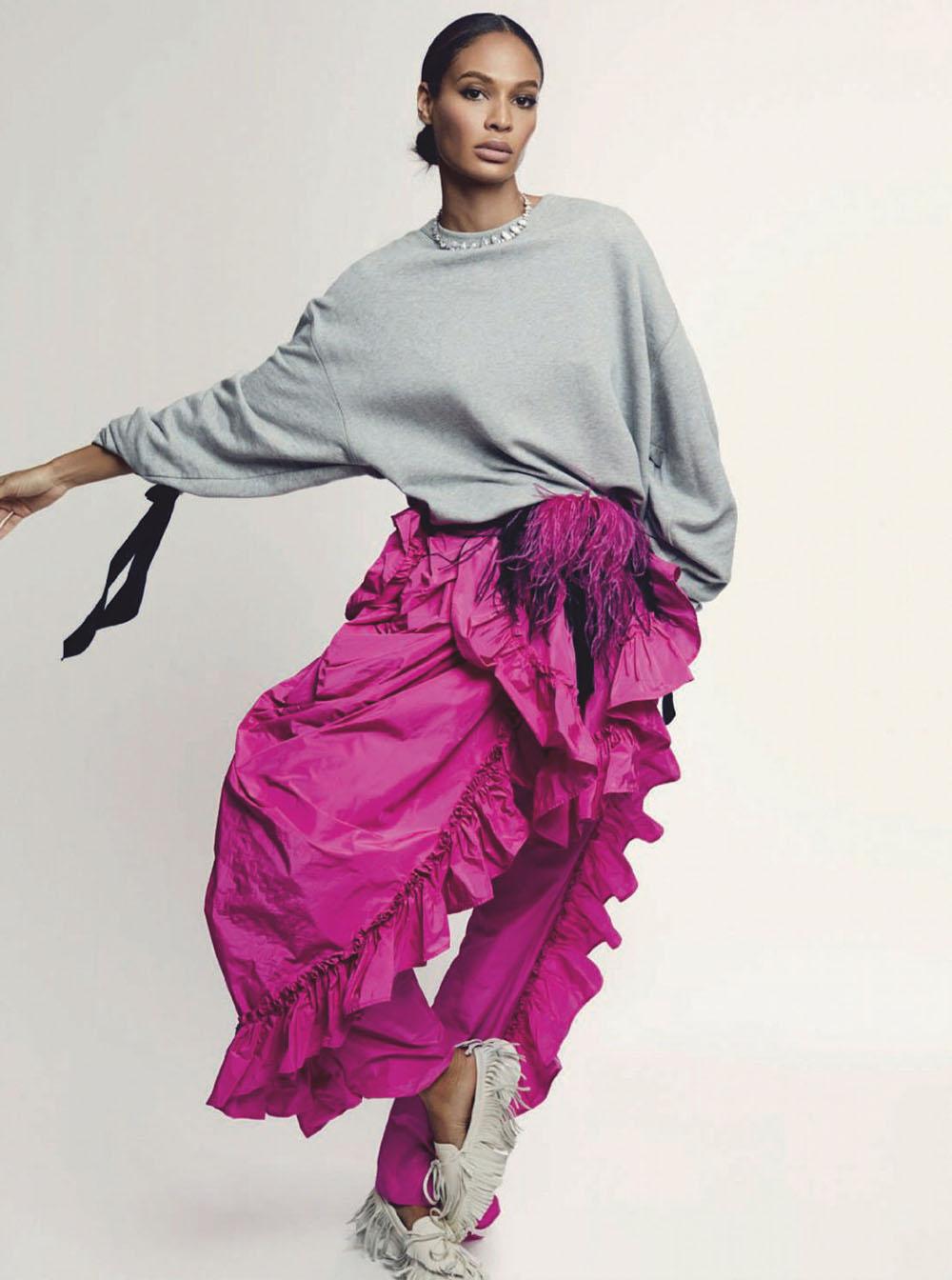 Joan Smalls covers Harper's Bazaar Spain February 2020 by Xavi Gordo