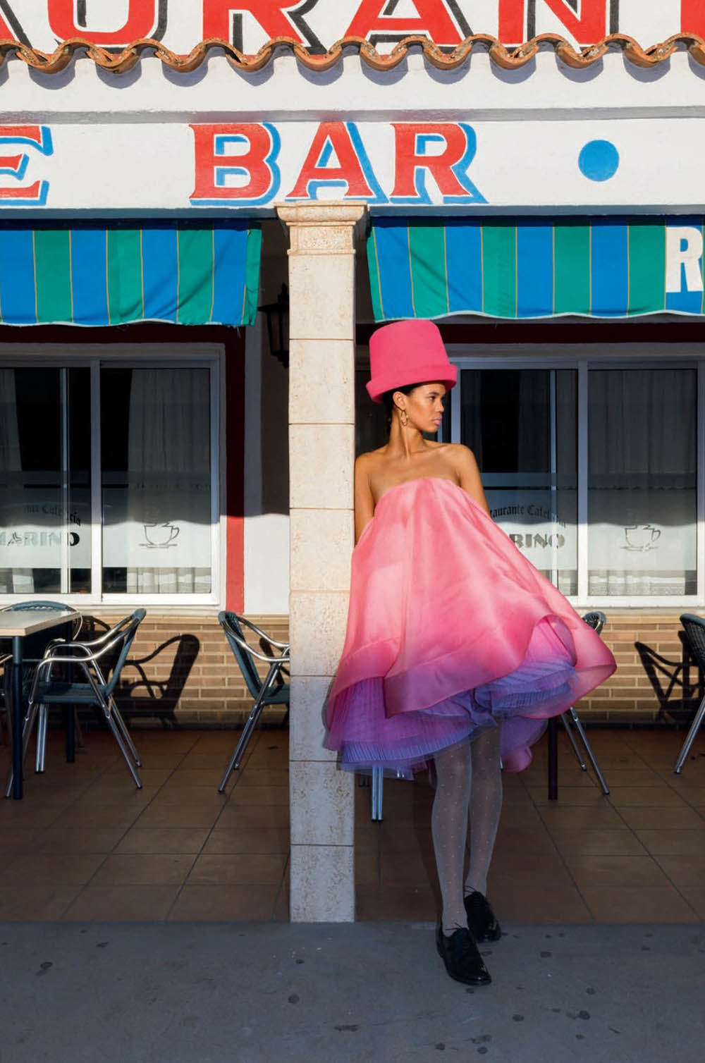 Jordan Daniels and Africa Penalver by Martin Parr for Vogue Spain February 2020