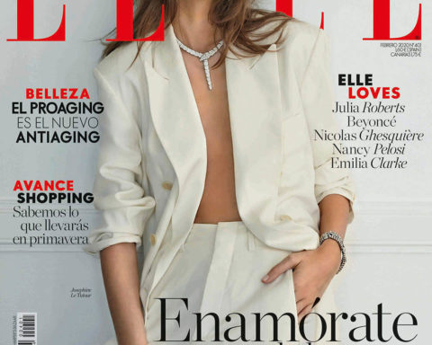 Joséphine Le Tutour covers Elle Spain February 2020 by Rafa Gallar