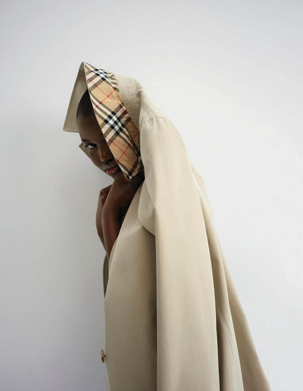 Kaia Gerber and Adut Akech by Bibi Cornejo Borthwick for Vogue US February 2020
