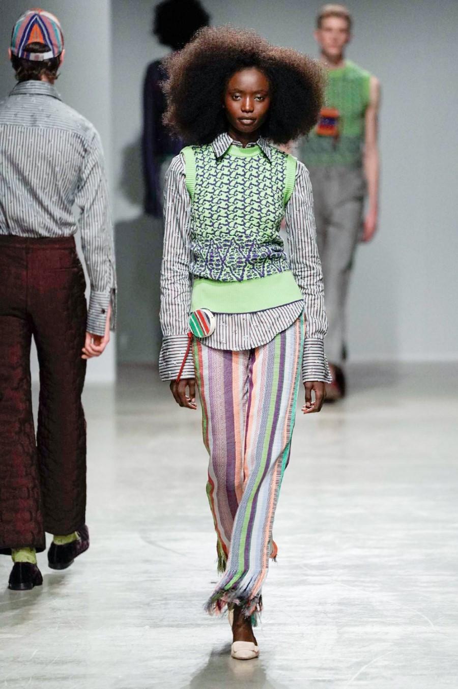 Kenneth Ize - Fall Winter 2020 - Paris Fashion Week