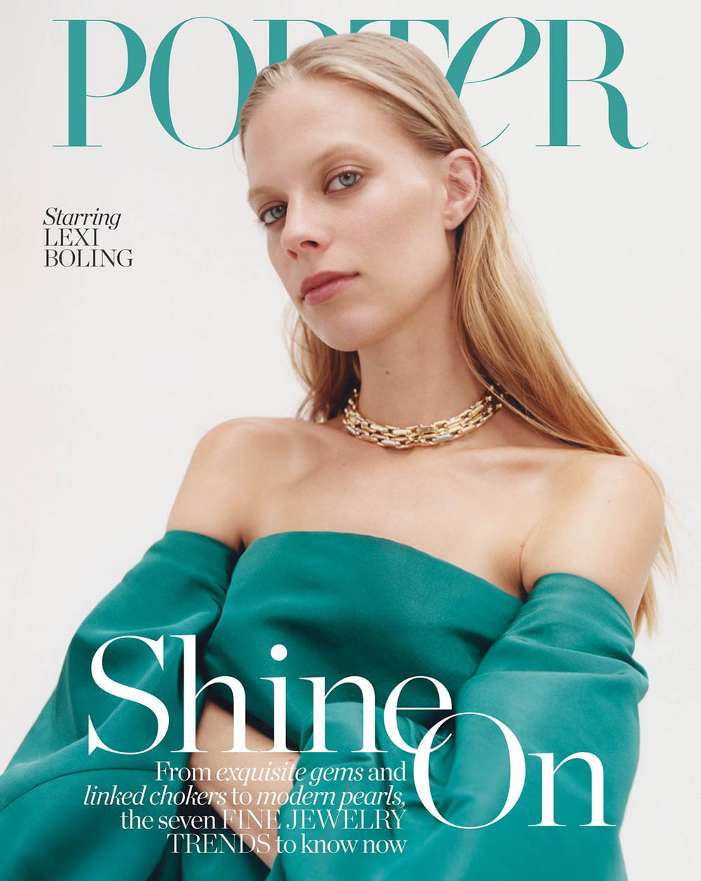 Lexi Boling covers Porter Magazine February 10th, 2020 by Benjamin Vnuk