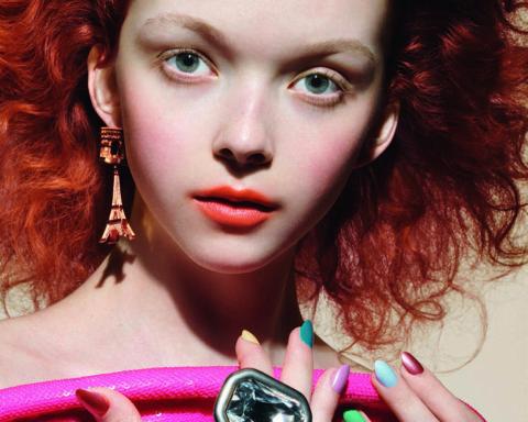 Lily Nova by Liz Collins for Vogue Poland February 2020