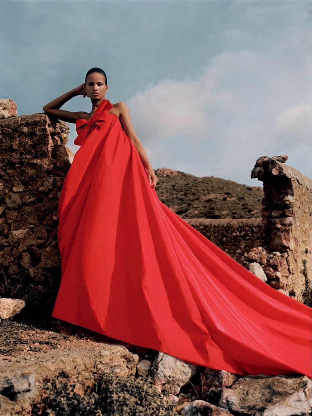 Litza Veloz by Anya Holdstock for Vogue Spain February 2020
