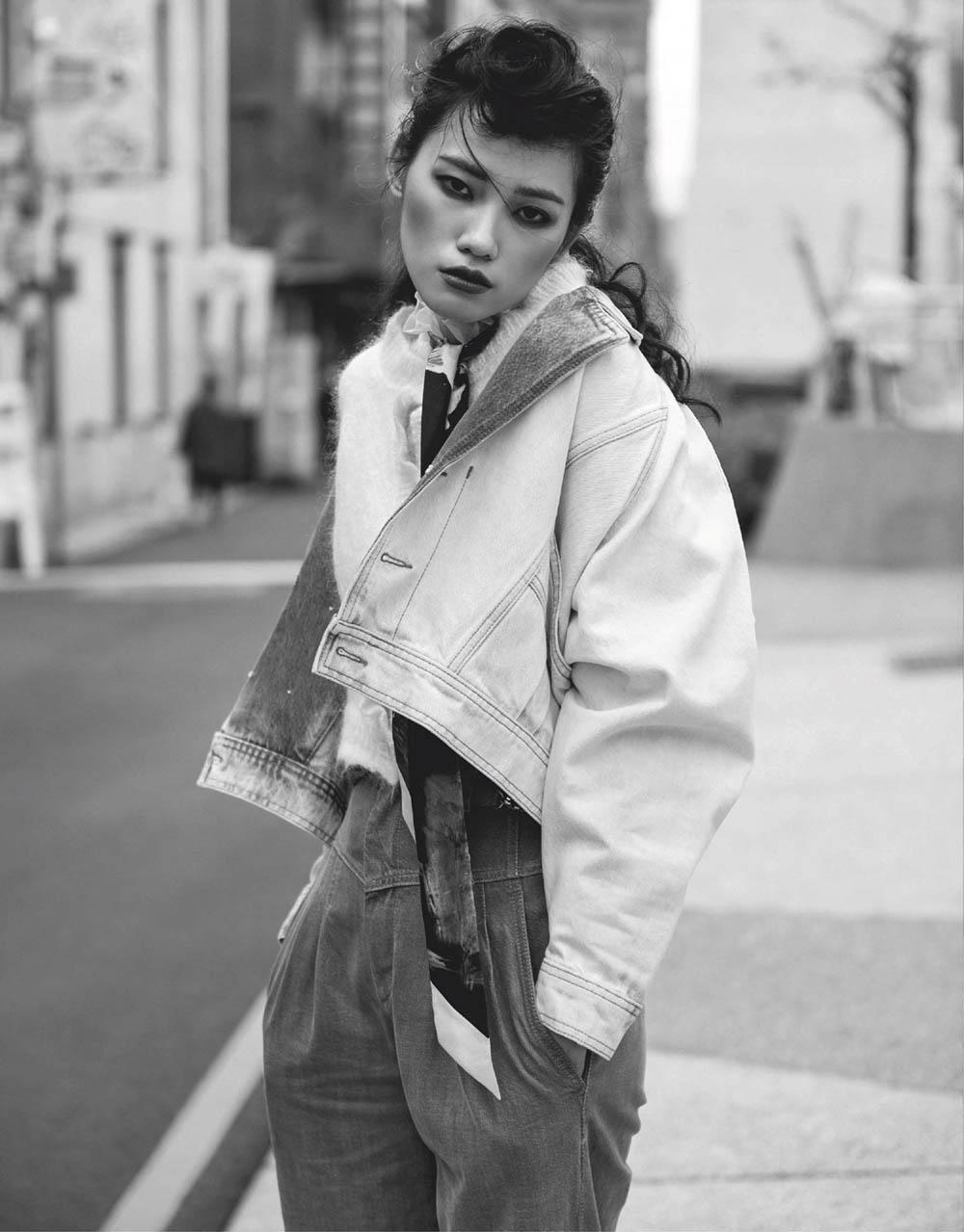 Meng Yu-Lai by Lan Chi Sheng for Vogue Taiwan February 2020