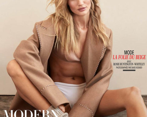 Rosie Huntington-Whiteley covers Madame Figaro February 7th, 2020 by David Roemer