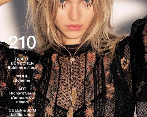Sasha Luss covers Numéro February 2020 by Hans Feurer