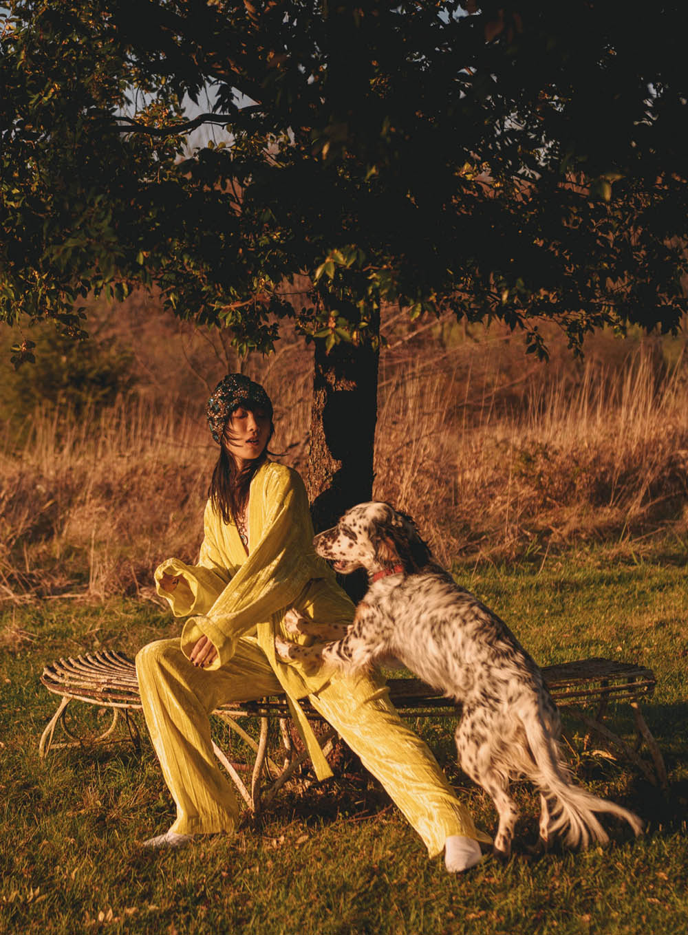 Vaughan Ollier and Yao Shiau by Noémi Ottilia Szabo for Marie Claire US February 2020
