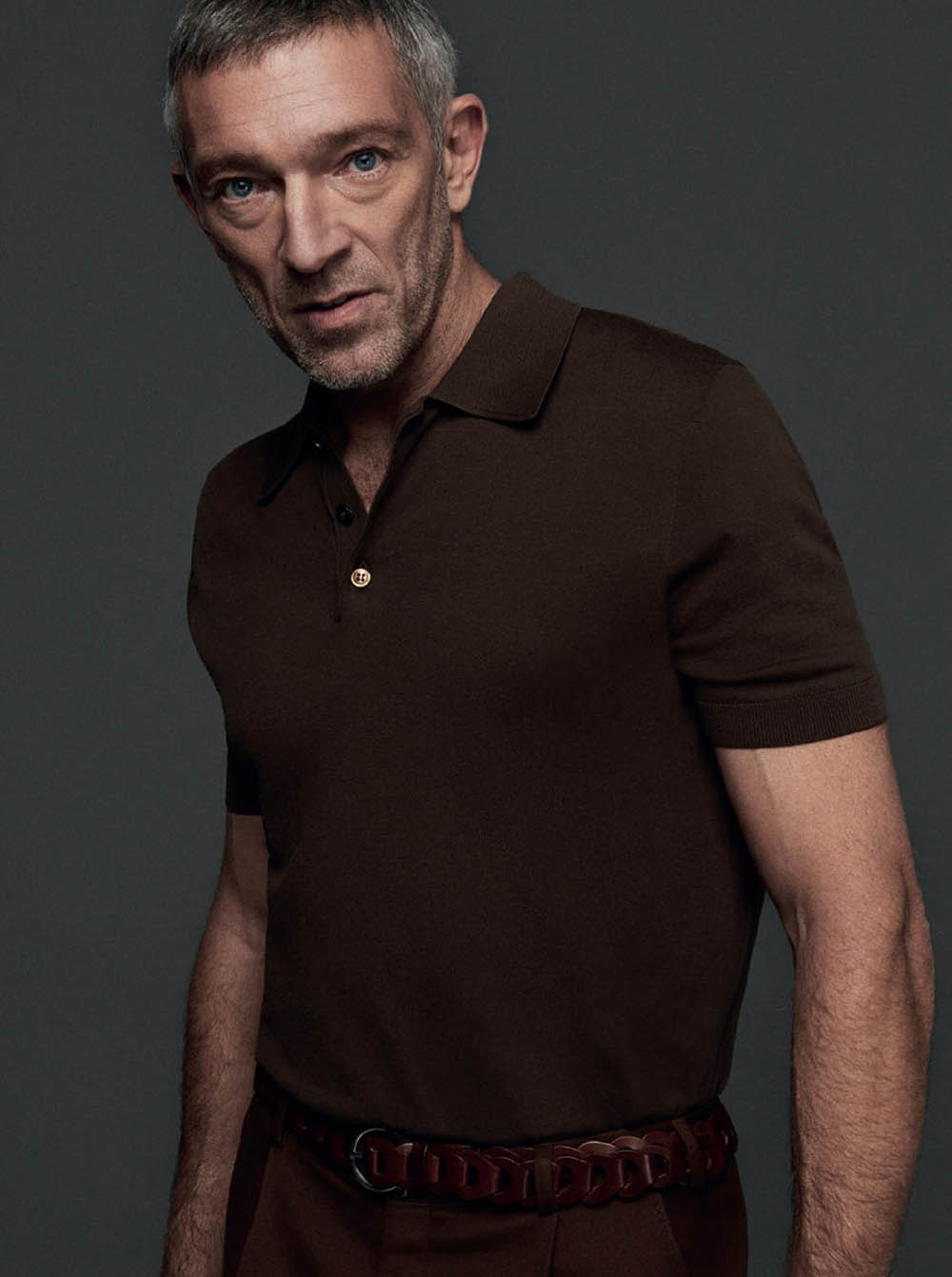 Vincent Cassel covers Esquire Spain February 2020 by Hew Hood