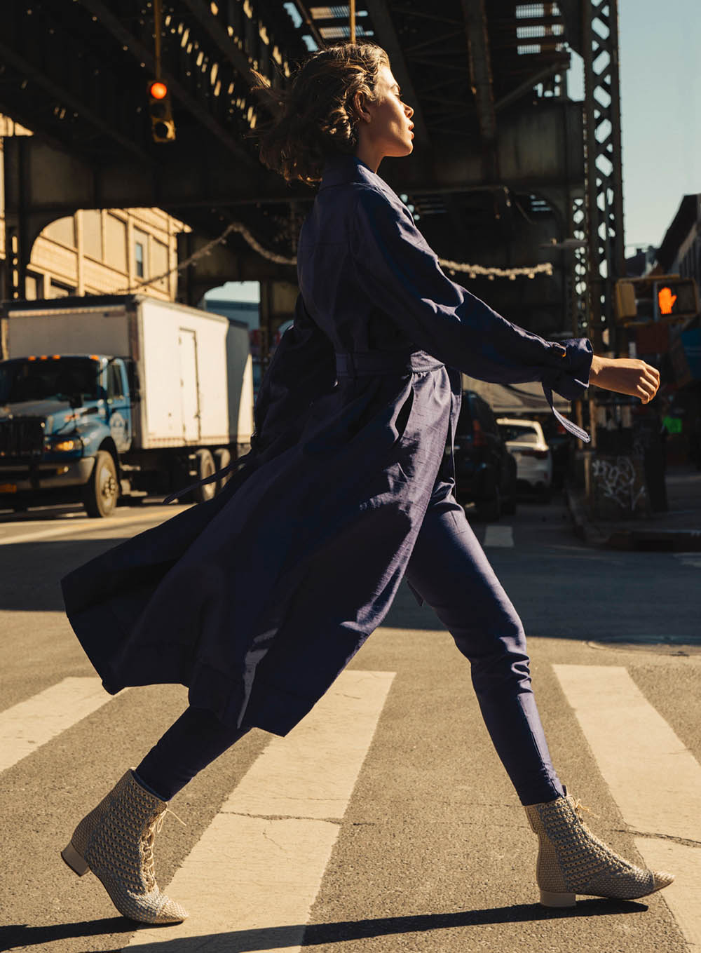 ''Walk This Way'' by Sebastian Kim for Elle US February 2020